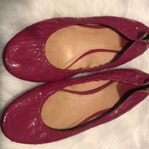 Christian Dior patten leather flats